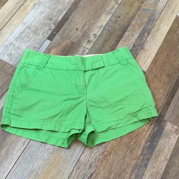 J. Crew Pants - J.crew Green Chino Shorts   122